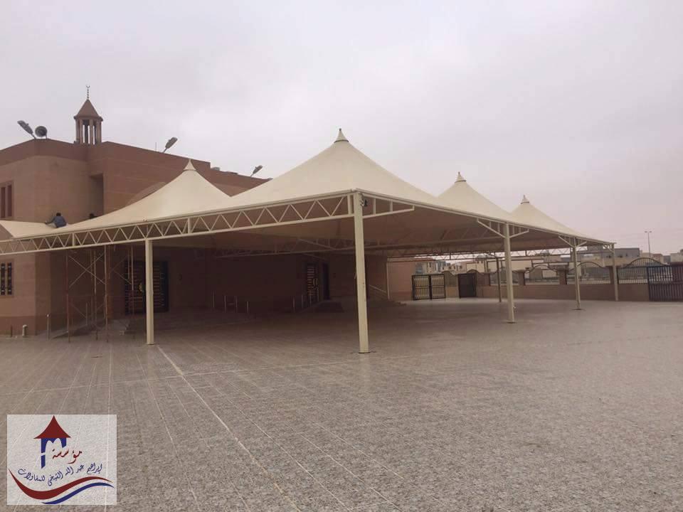 مظلات كابولي لساحة الجامع