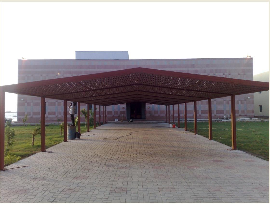 مظلات وسواتر مؤسسة الشيخي - هناجر