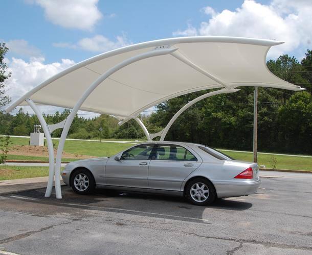 مظلات كابولي للـ سيارات