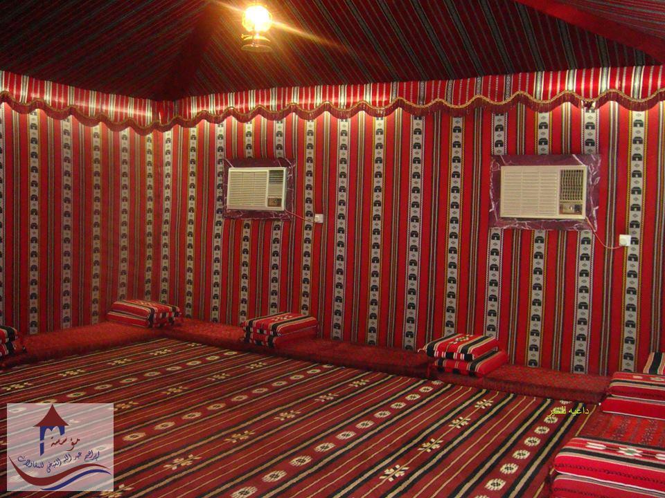 بيوت شعر عادي بمجلس عربي