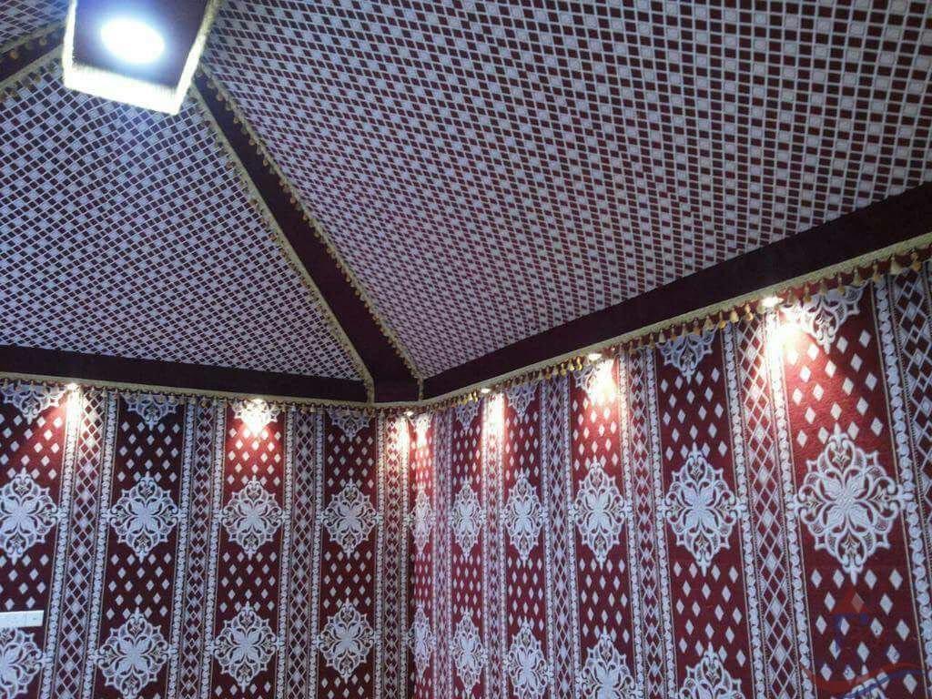 بيوت شعر ديكور خيالي